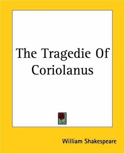 Download The Tragedie Of Coriolanus