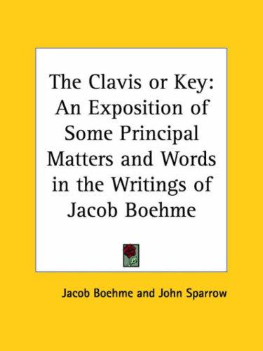 The Clavis or Key