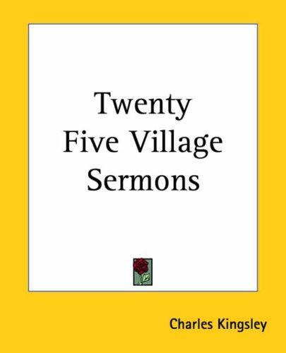 Download Twenty Five Village Sermons