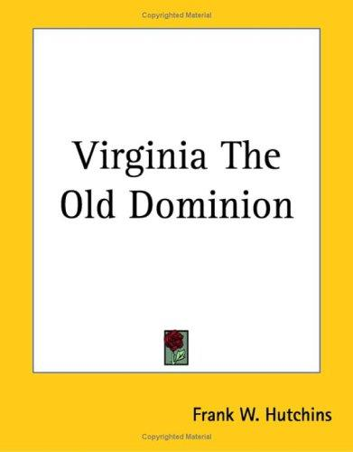 Download Virginia the Old Dominion