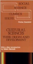 Download Cultural sciences, their origin and development