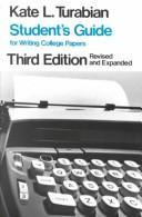 Download Student's guide for writing college papers
