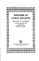 Download Memoirs of Carlo Goldoni
