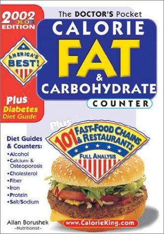 The Doctors Pocket Calorie, Fat & Carbohydrate Counter