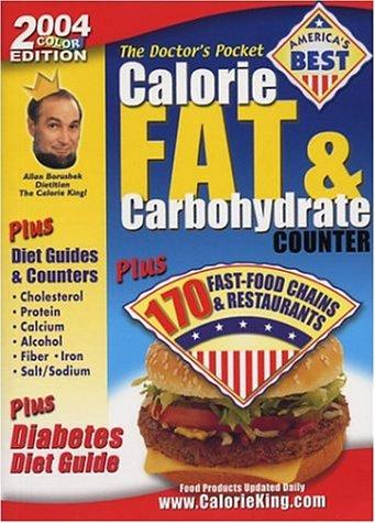 The doctor's pocket calorie fat & carbohydrate counter