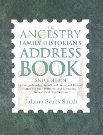 Download The ancestry family historian's address book