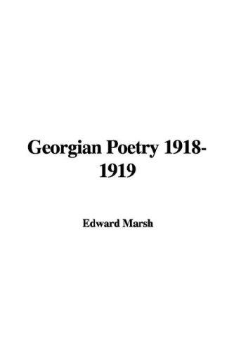 Download Georgian Poetry 1918-1919