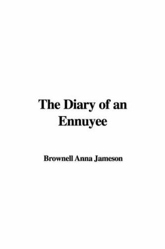 Download The Diary of an Ennuyee