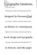 Typographic variations