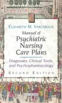 Download Manual of psychiatric nursing care plans