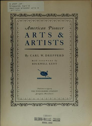Download American pioneer arts & artists