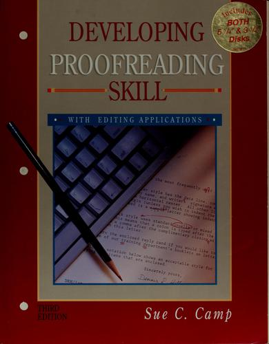 Download Developing proofreading skill