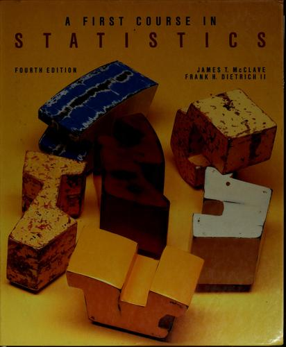 Download A first course in statistics
