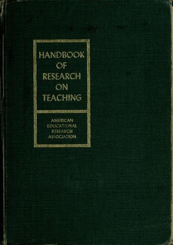 Handbook of research on teaching