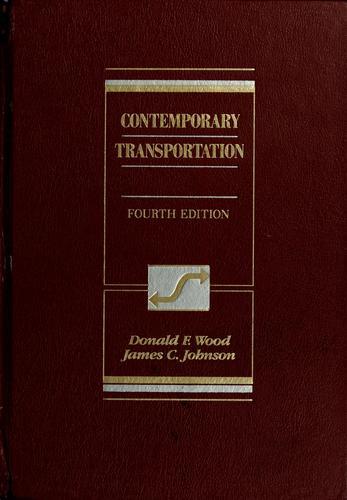 Download Contemporary transportation