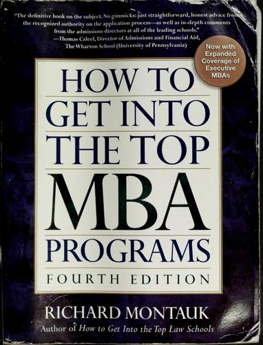 Download How to get into the top MBA programs
