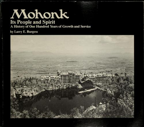 Download Mohonk, its people and spirit