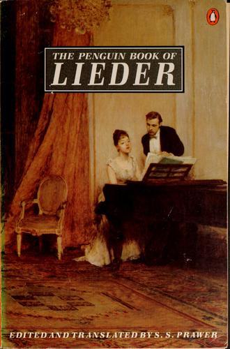 Download The Penguin book of lieder