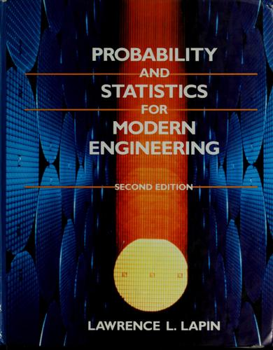 Download Probability and statistics for modern engineering