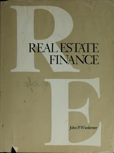 Download Real estate finance