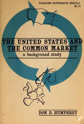 The United States and the Common Market