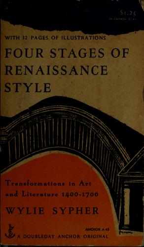 Download Four stages of Renaissance style