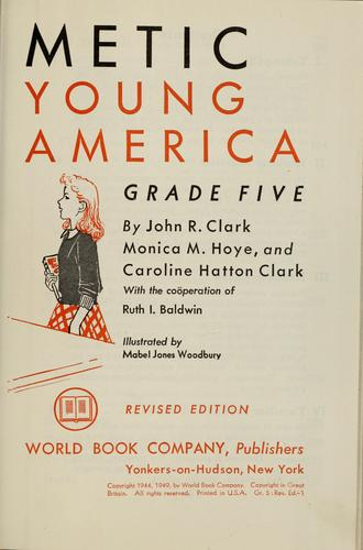 Arithmetic for young America, grade five by Clark, John Roscoe