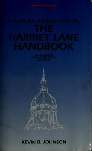 The Harriet Lane handbook by Johnson, Kevin B. M.D.