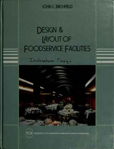 Download Design and layout of foodservice facilities