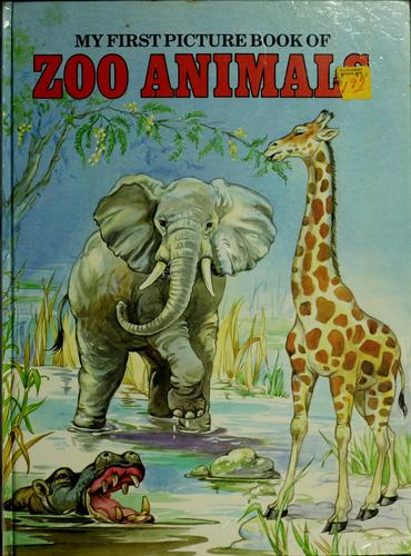 My first picture book of zoo animals