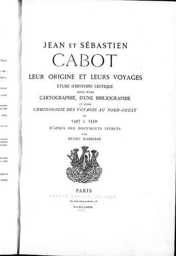 Jean et Sébastien Cabot