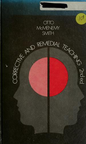 Corrective and remedial teaching