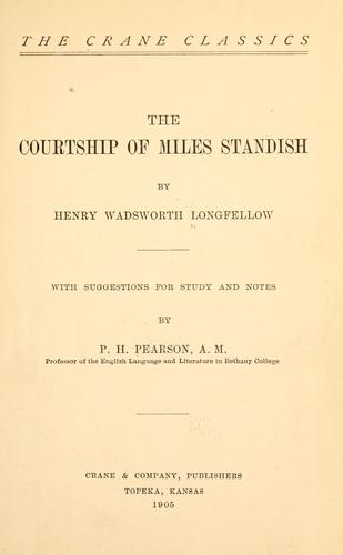 The courtship of Miles Standish…