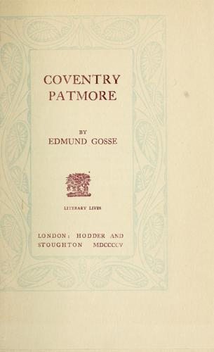 Download Coventry Patmore.