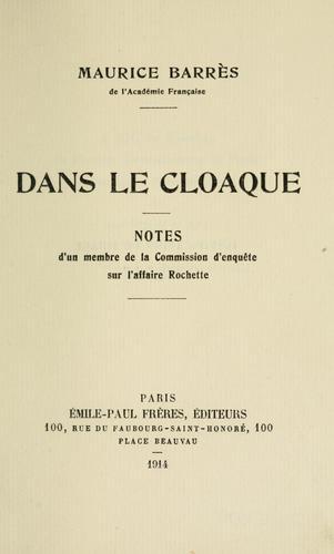 Download Dans le cloaque.