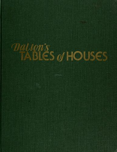 Download Dalton's tables of houses