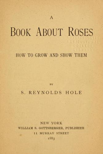Download A book about roses