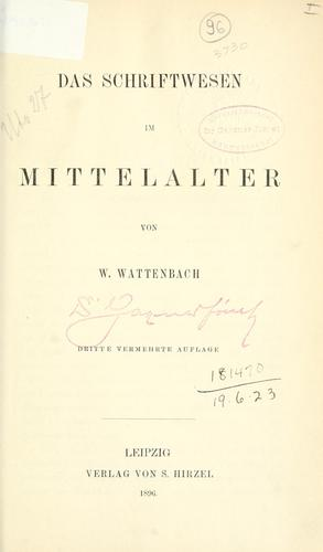 Download Das Schriftwesen im Mittelalter