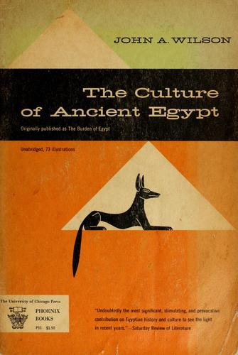Download The culture of ancient Egypt.