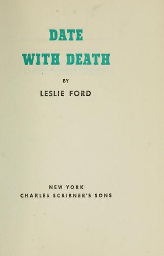 Date with death by Leslie Ford