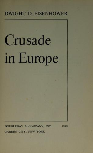 Download Crusade in Europe.