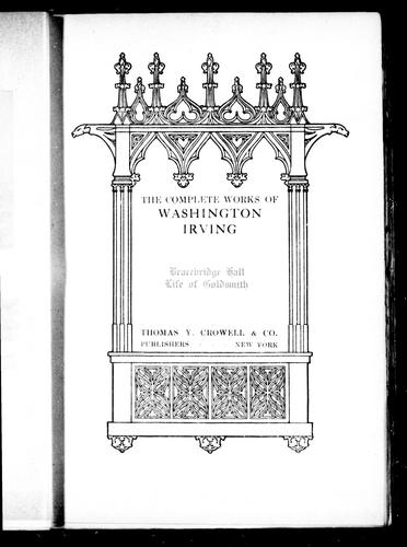Download The complete works of Washington Irving