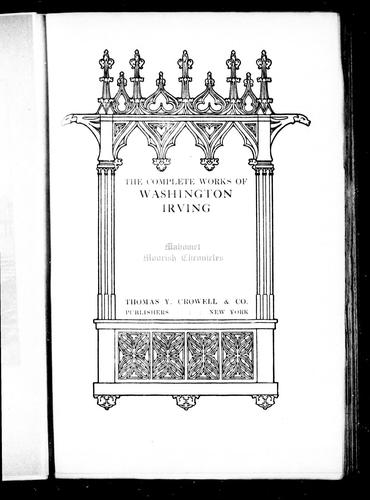 The complete works of Washington Irving