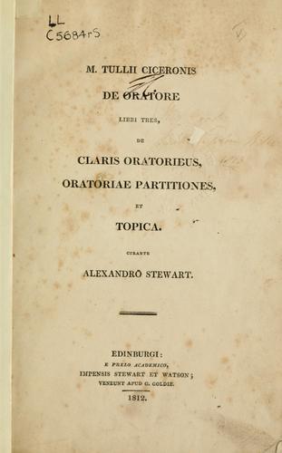 De oratore libri tres