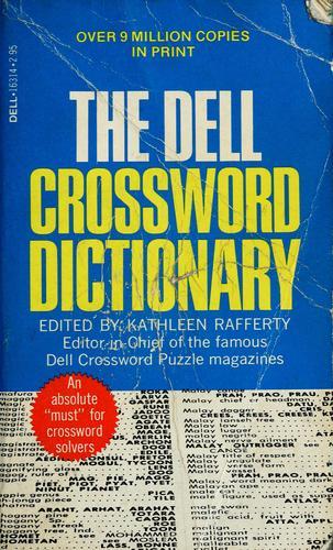 Dell crossword dictionary
