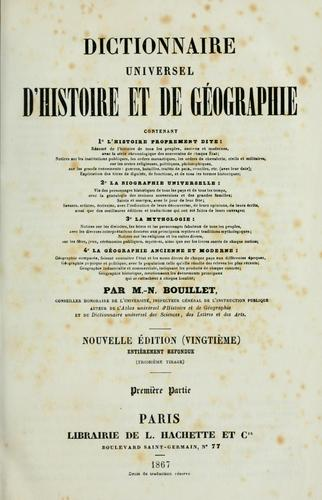Download Dictionnaire universel d'histoire et de géographie