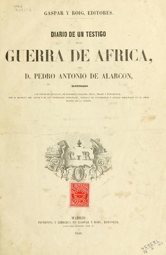 Download Diario de un testigo de la guerra de Africa