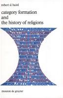 Category formation and the history of religions