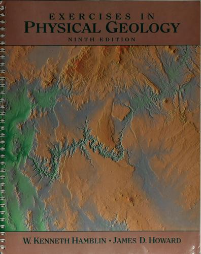 Exercises inphysical geology
