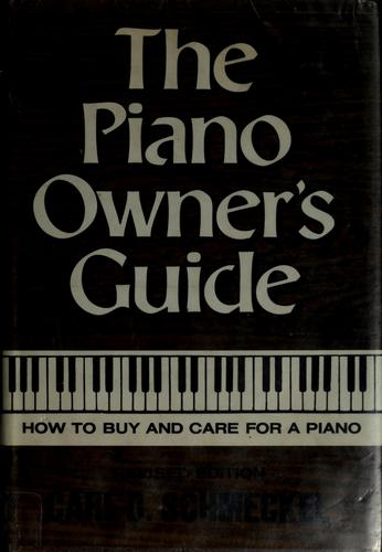 Download The piano owner's guide